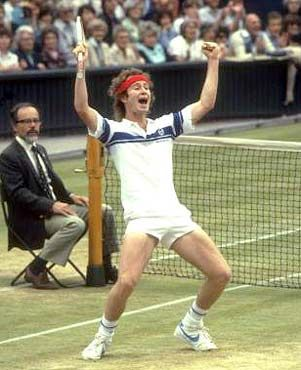 John McEnroe: nobody could match his touch. Greatest intuitive player of all time.