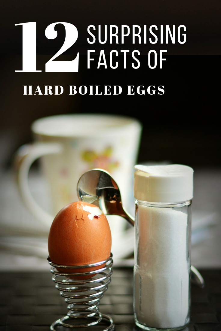 12 Surprising Facts About The Benefit of Hard Boiled Eggs #eggnutritionfacts