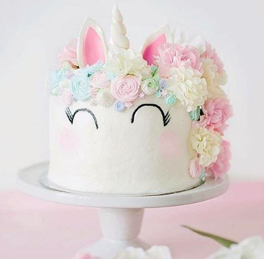 """10 Inspirações de """"bolo de unicórnio"""" para decorar a sua festa! - EuGosto"""