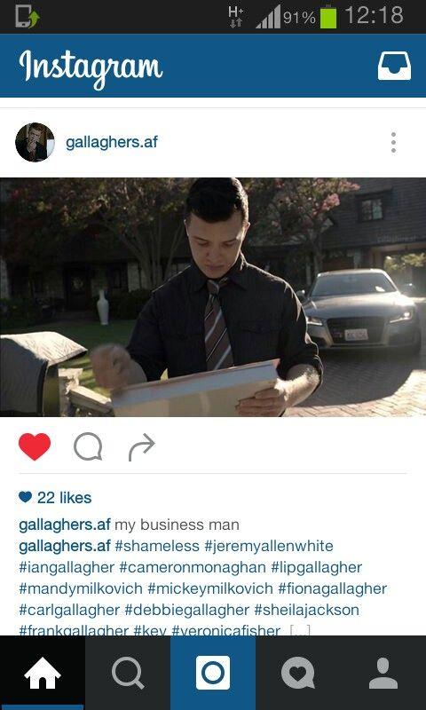 #shameless #gallagher #milkovich #mickeymilkovich #wearerespectablenow