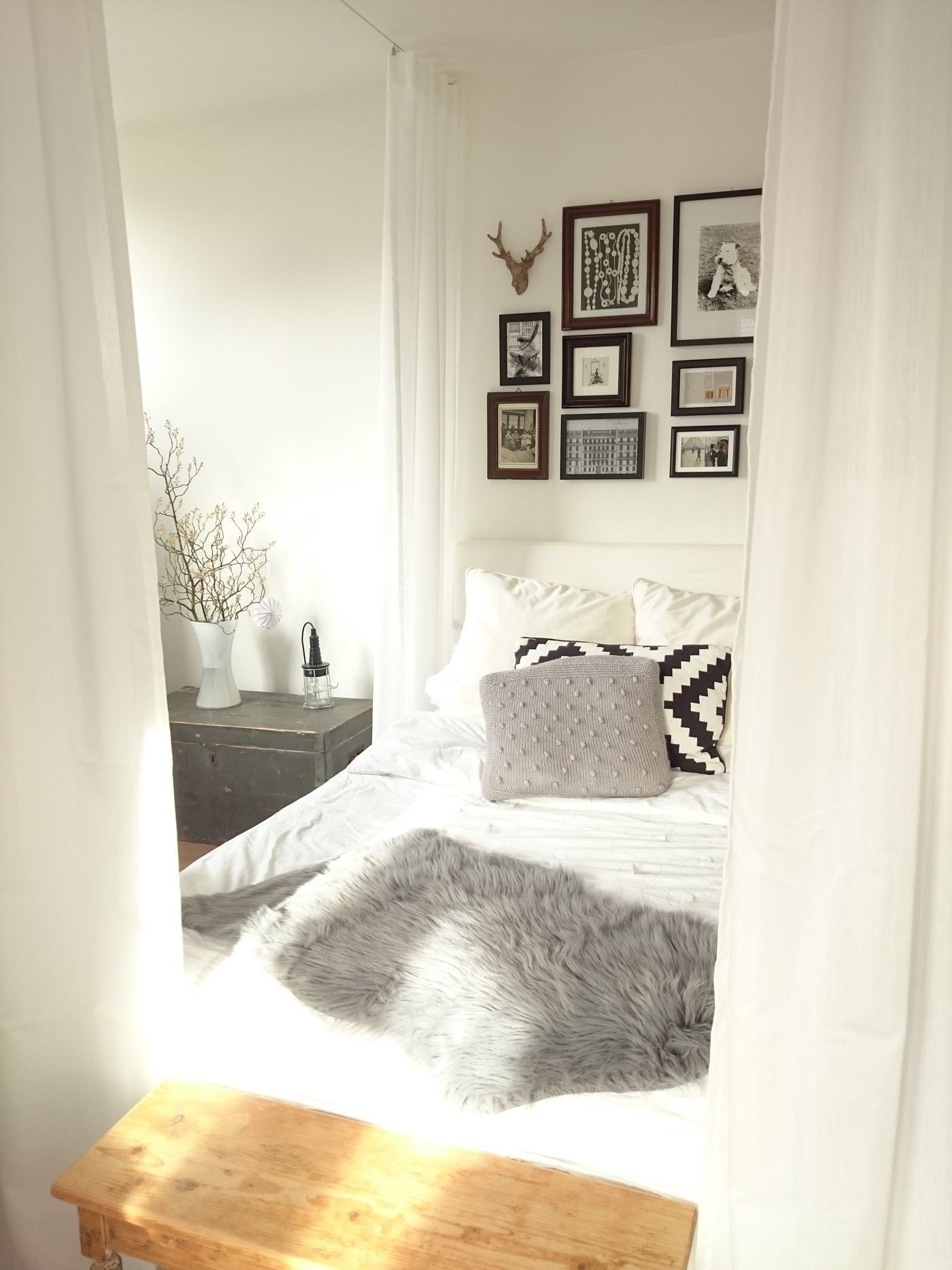 Kleine Schlafzimmer Einrichten Gestalten Schlafzimmer Grau