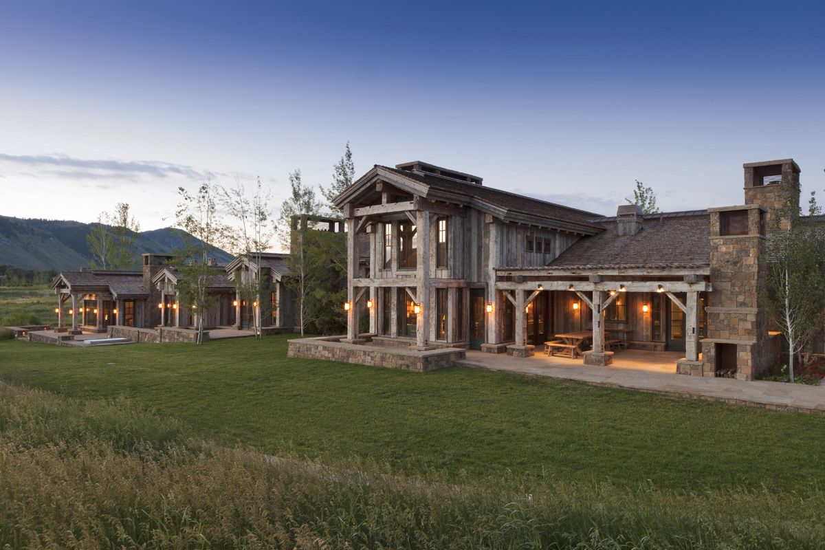 the ultimate ranch house by danny williams jackson hole wyoming architecture. Black Bedroom Furniture Sets. Home Design Ideas