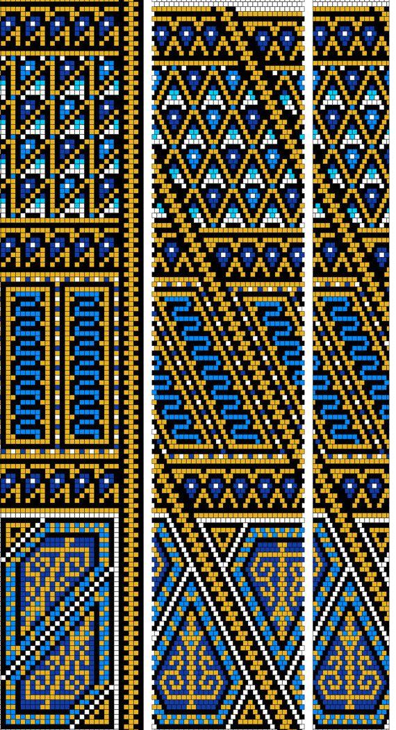 Bead crochet pattern PDF JBB tutorial Crochet rope scheme DIY ...