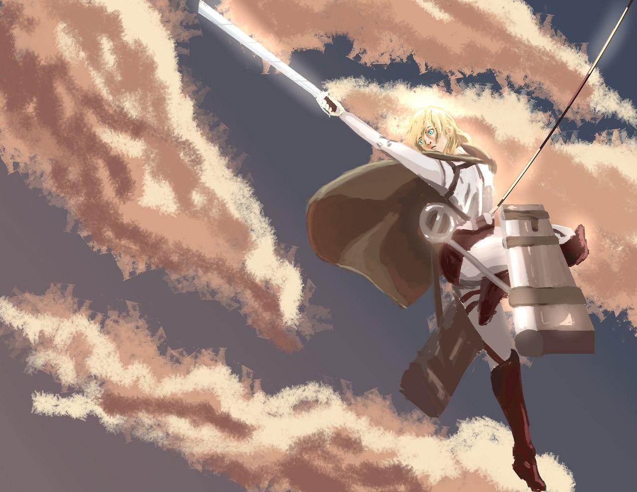 Pin by Katherine Elizabeth on Historia Reiss Attack on titan