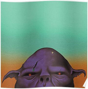 Oh Sees Orc Poster By Partytrumpet Plakat