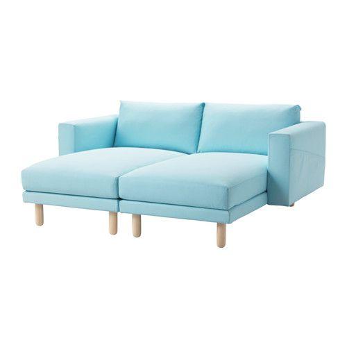 Ikea Us Furniture And Home Furnishings Norsborg Blue Sofa Fabric Sofa