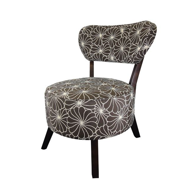 This chair is the perfect addition to your home with its stylish versatility. This furniture features an attractive finish for elegance.