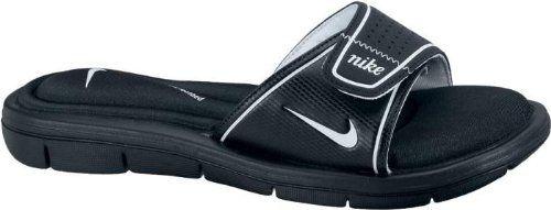 Desconfianza prosa hoy  NIKE Women's Comfort Slides - Size: 9, Black/white Nike,http://www.amazon.com/dp/B002J77ASC/ref=cm_sw_r_pi_dp_1-zDtb126…  | Womens sandals, Women sport sandals, Nike