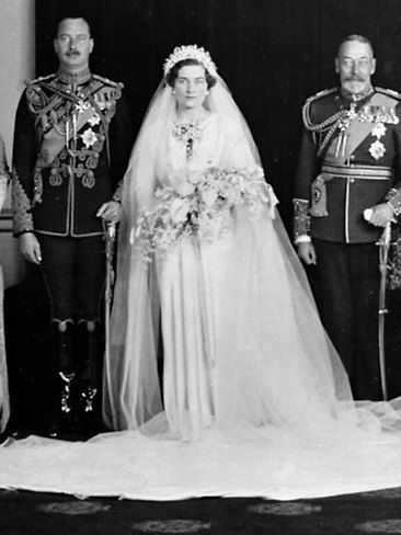 Earl Of Ulster Wedding: Britain's Duke And Duchess Of Gloucester, Princess Alice
