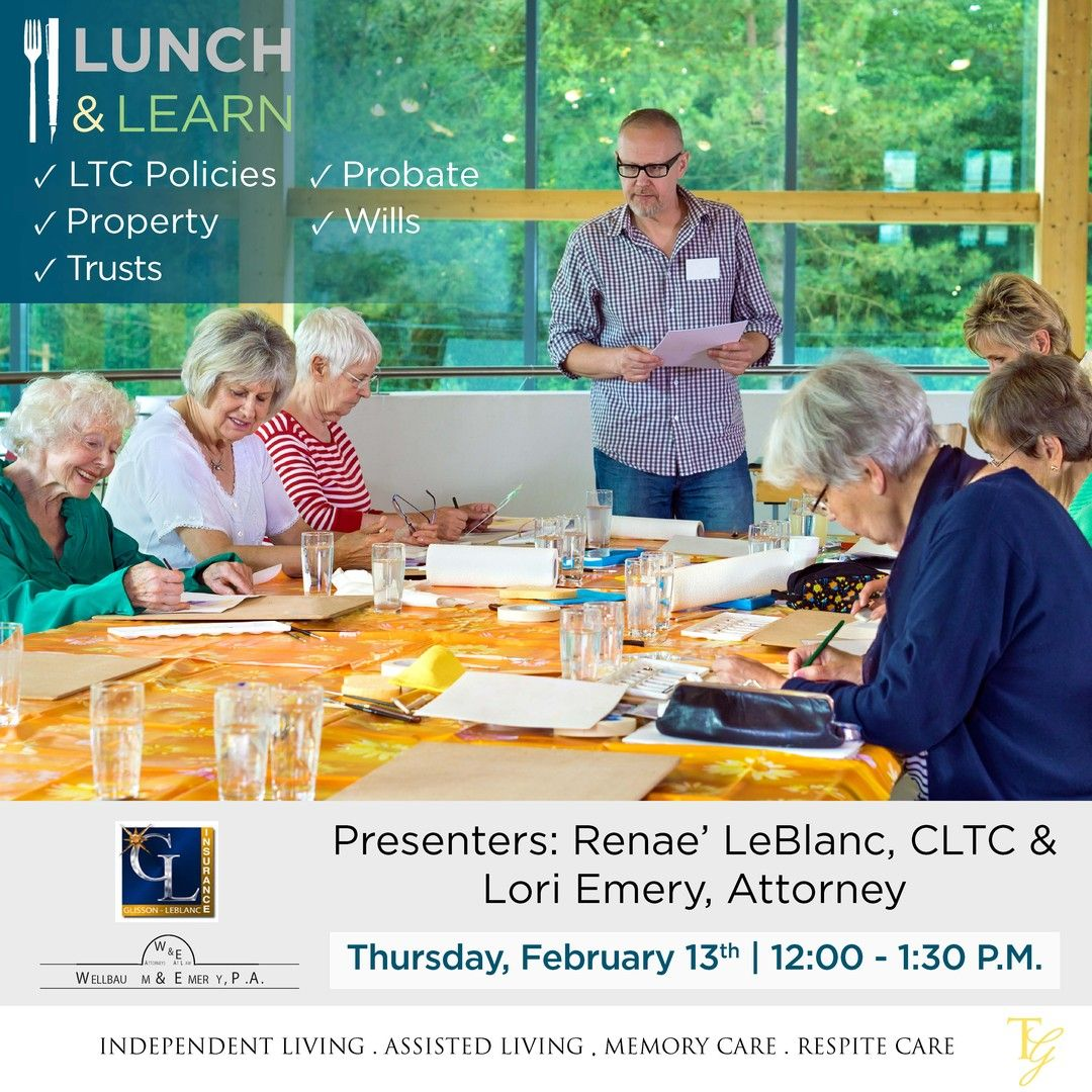 Lunch and Learn Estate Planning in 2020 Estate planning