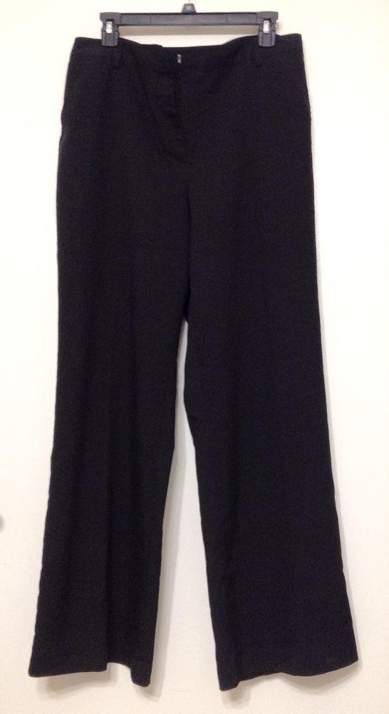 Womens Classic Leg Slinky Trousers