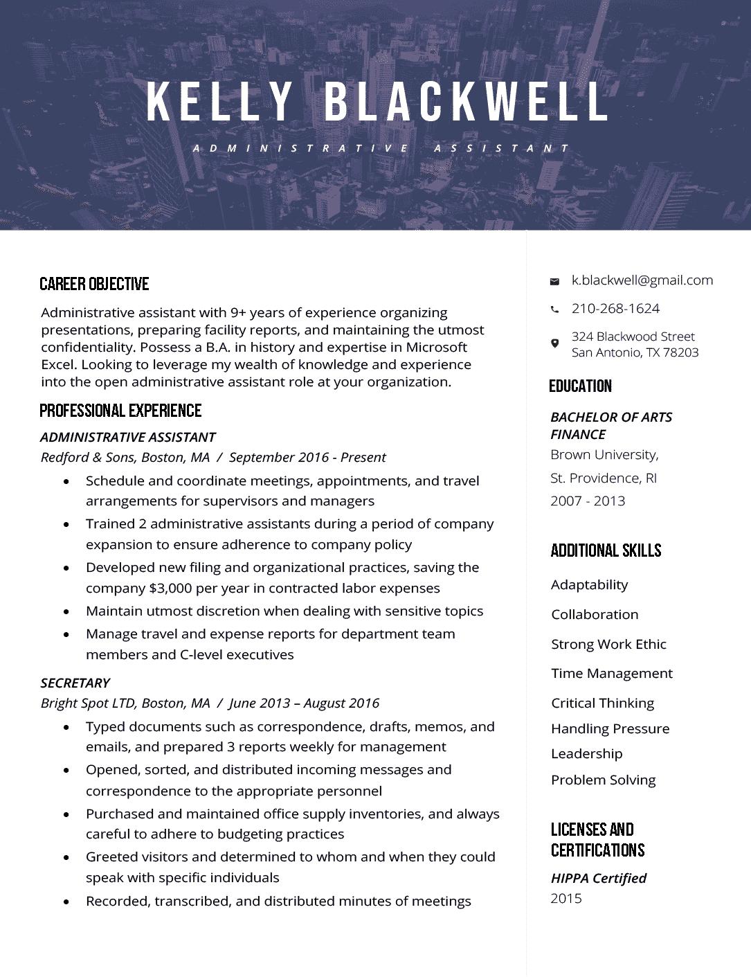 Resume Builder Resume templates, Web developer resume
