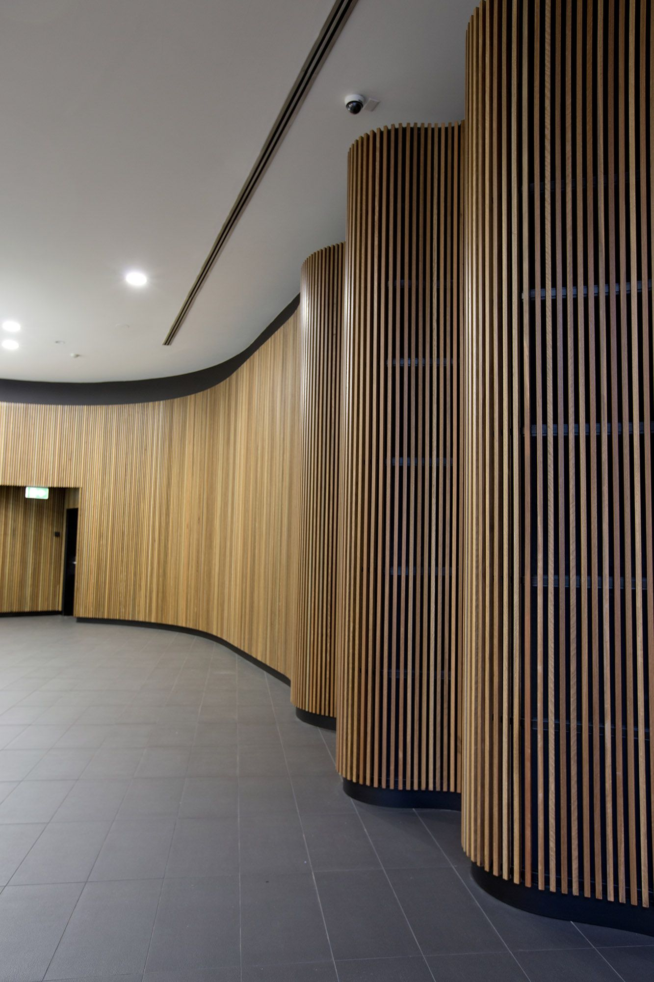 Concept Click Woodform Timber Battens Timber Walls