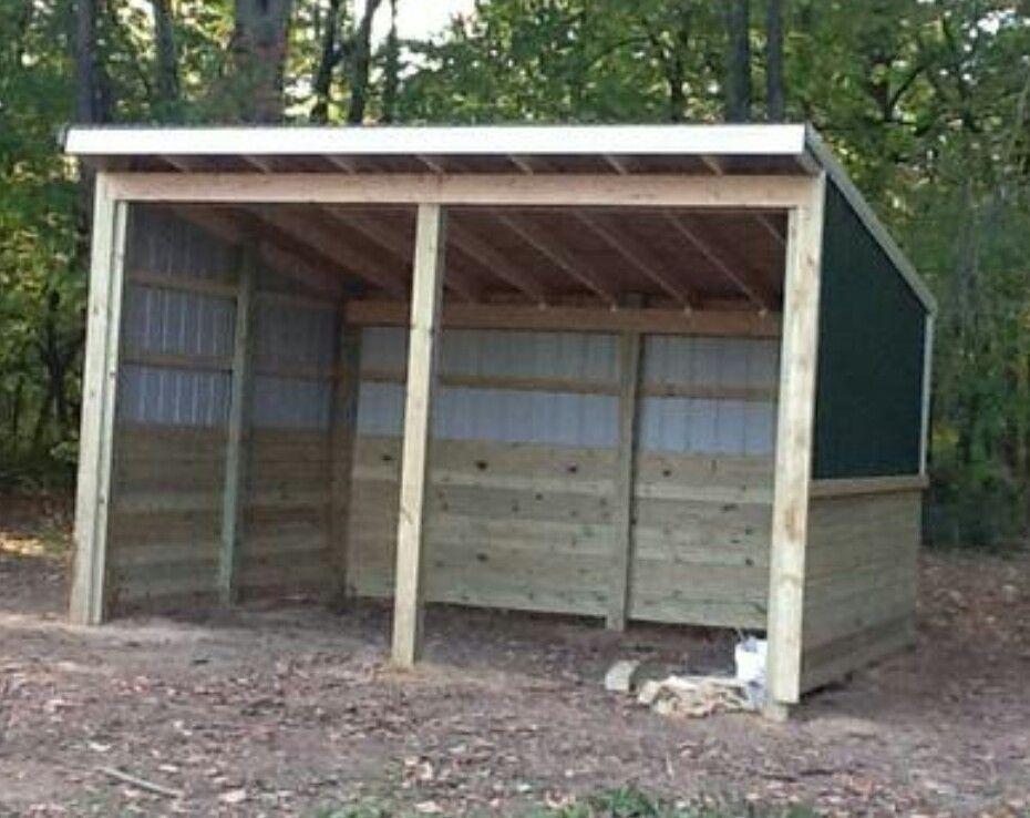 Lean To Animal Shelter Goat Shelter Pallet Dog House Horse Shelter