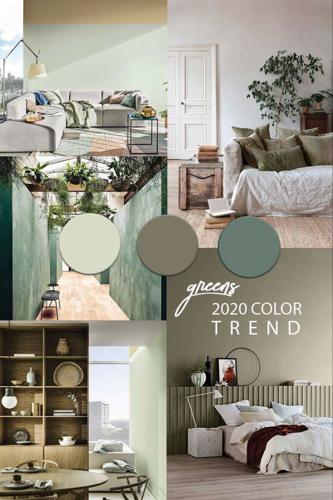 Green Wall Paint Color Trend 2020 Green Painted Walls Green Wall Color Trending Paint Colors