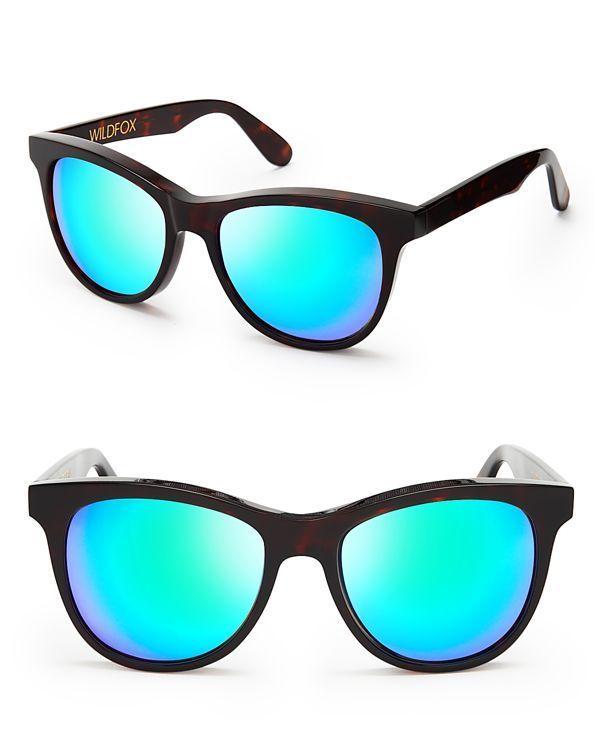 Wildfox Catfarer Deluxe Mirror Sunglasses