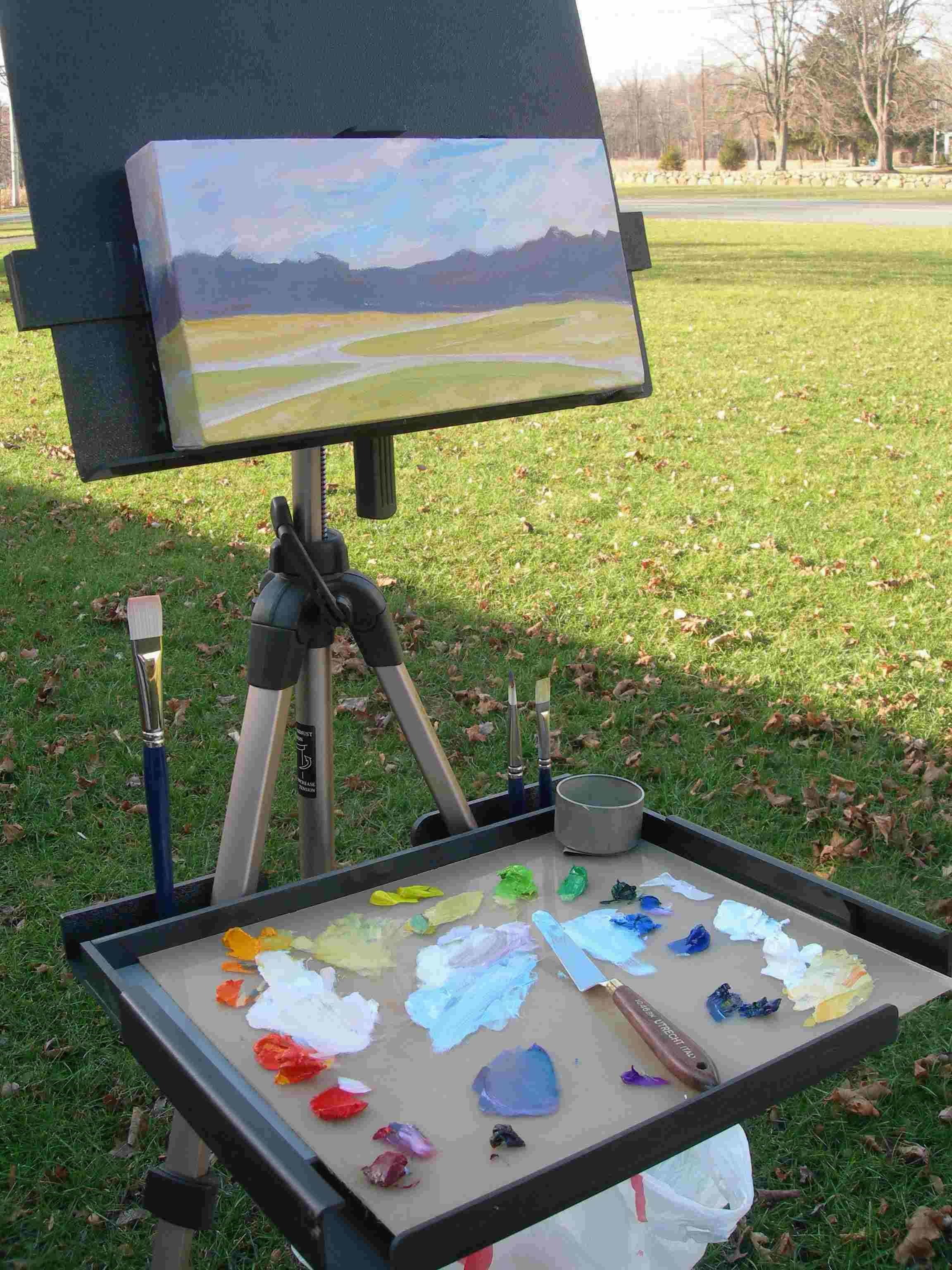 Eric Michaels En Plein Air Pro Water Color Easel | Art Products I ...