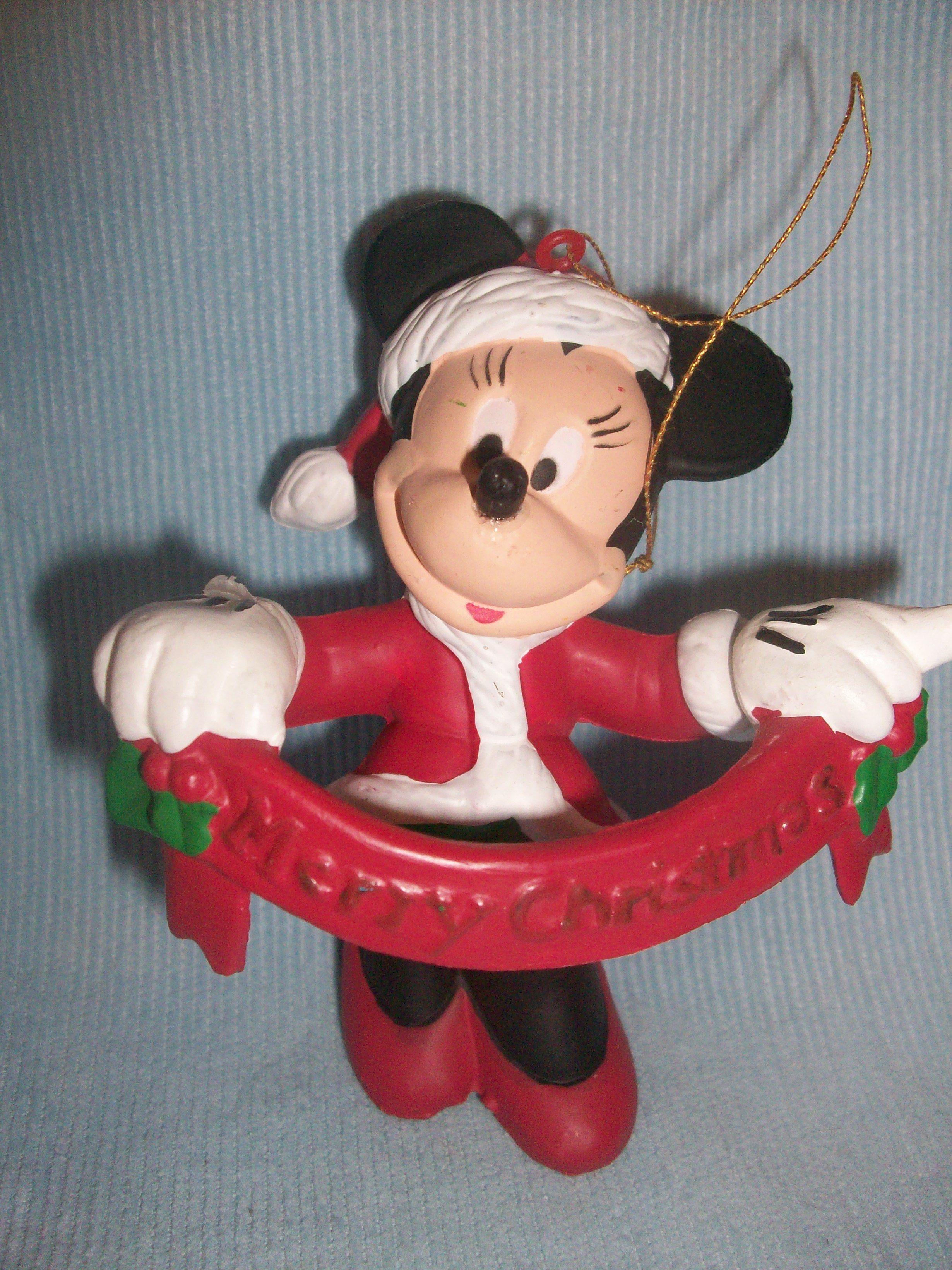 Minnie Christmas ornament