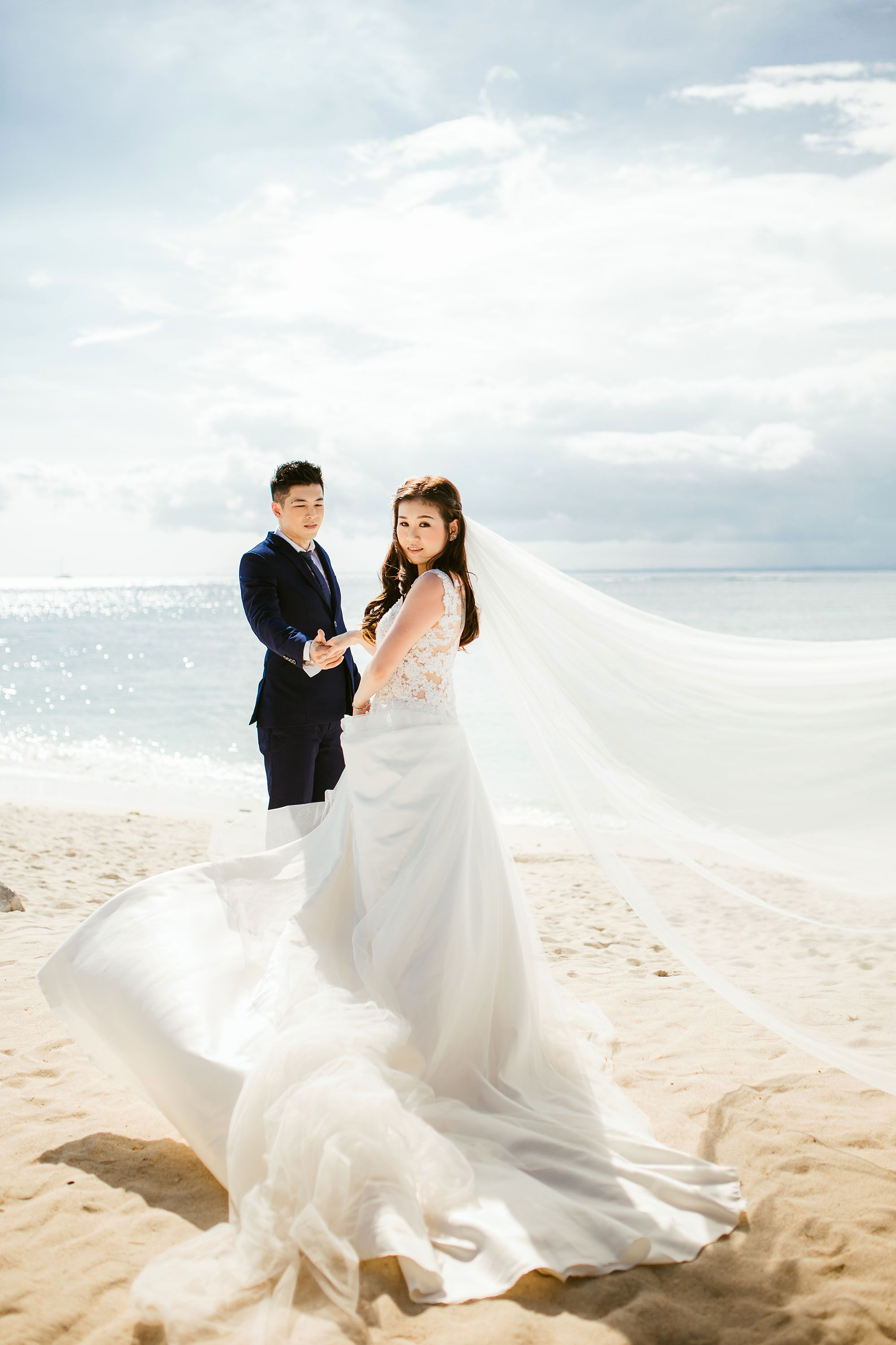 Taiwan Outdoor Pre Wedding Photoshoot At The Forest And Beach
