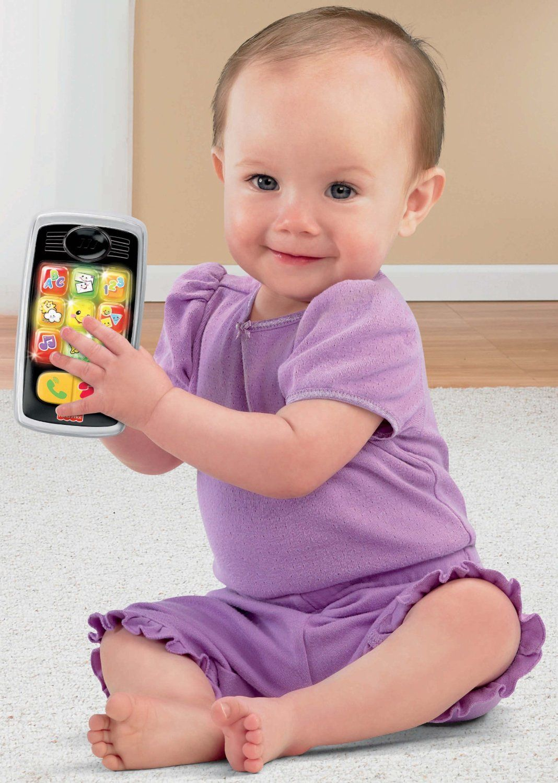 Birthday Gift Idea Amazoncom Fisher Price Laugh Learn Smilin Smart Phone