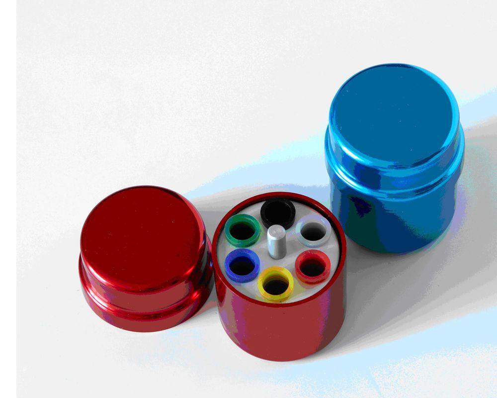 1Pc Dental Endo Organizer Container 6 Paper Gutta Percha Aluminum Endodontic #Ruier