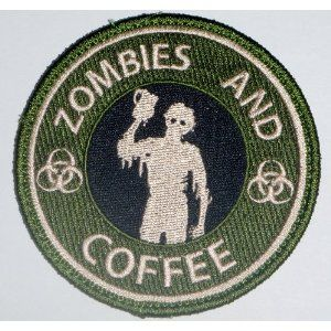 The NEW Tactical Starbucks Zombie Guns and Coffee Velcro