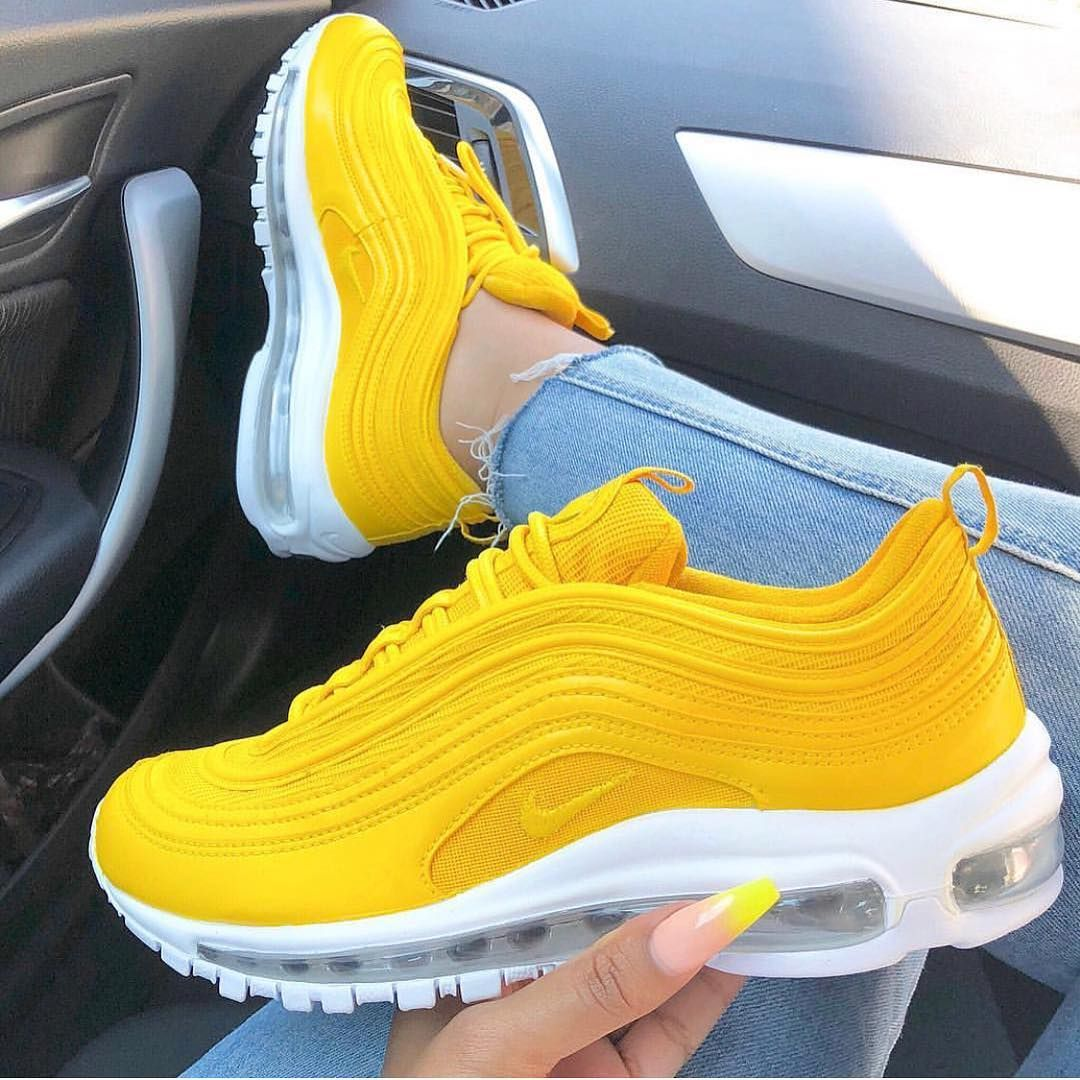 Like Nike Shoes Runners Sneakers Baddie Followforfollow Follow Likeforlike Instagood Instapic Happy Y Nike Shoes Air Max Slides Shoes Yellow Shoes