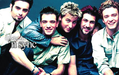 My favorite band when I was like 5... Hahaha I miss *NSYNC