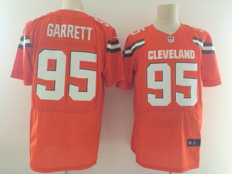Cheap Men 95 Myles Garrett Jersey Football Cleveland Browns Jersey | NFL  for sale