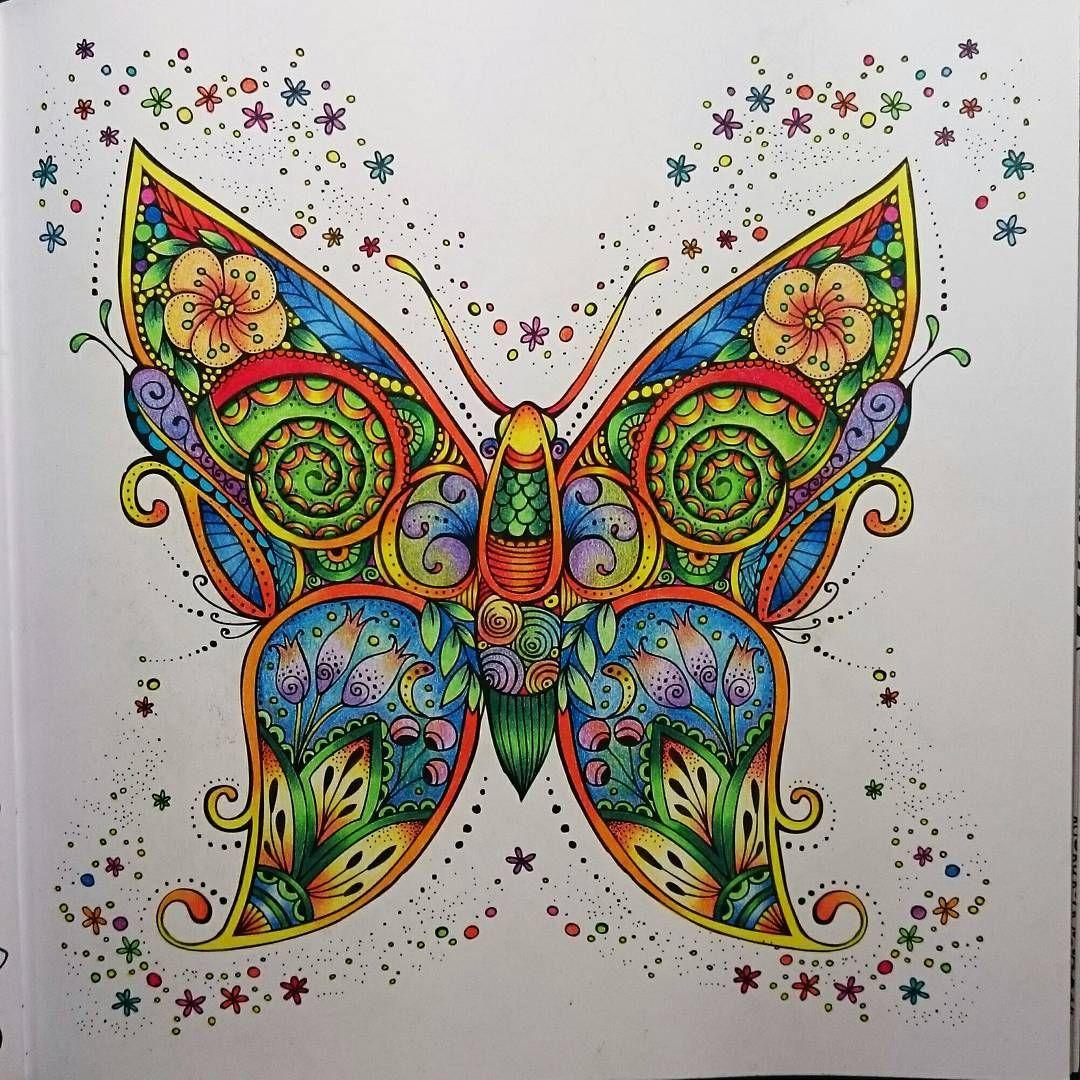 Butterfly from \'Mein Frühlings Spaziergang\' by Rita Berman. Threw ...