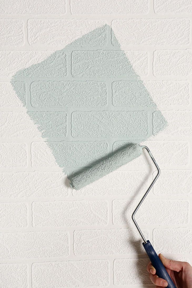 Lovely Graham U0026 Brown Brick Wall Paintable Wallpaper Genius! But I Would Have To  Make Sure