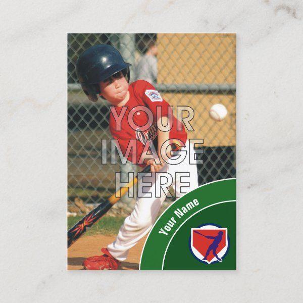 how to make a custom baseball card
