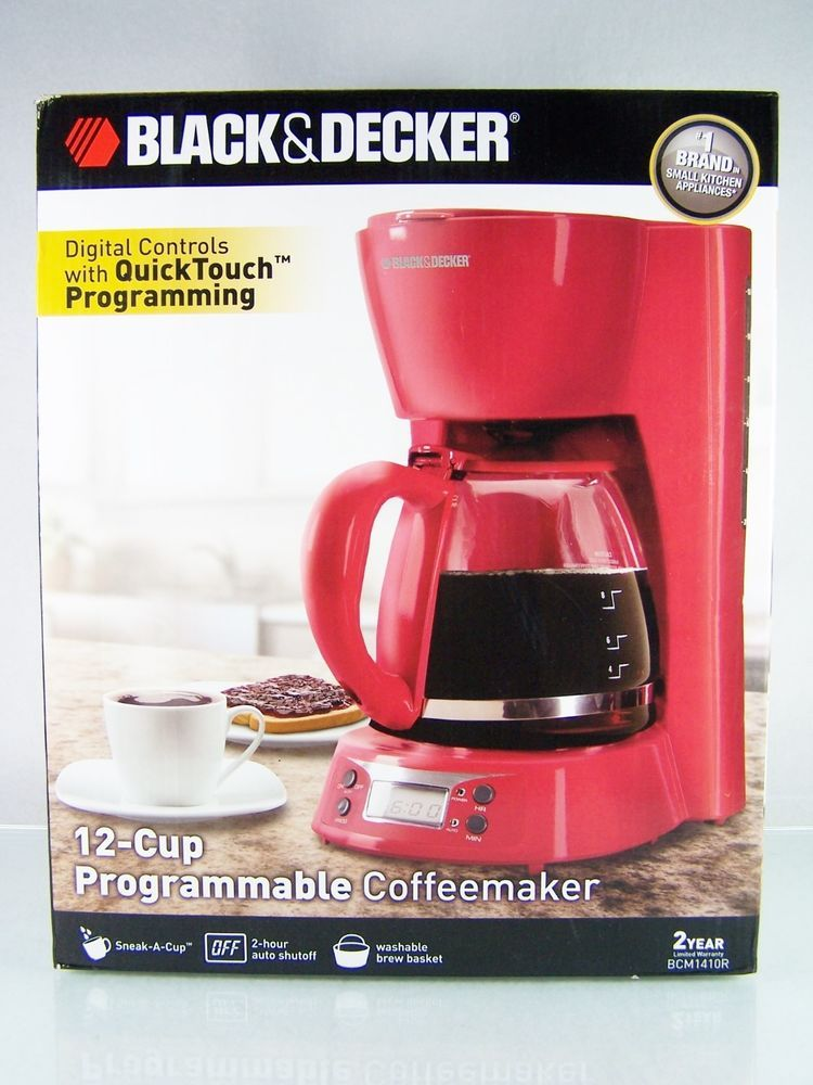Blackdecker black and decker 12 cup programmable coffee
