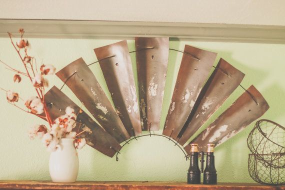 Windmill Half Farm House Decor Fixer Upper Joanna Gaines Style Hgtv 1 2 Windmill Wall Farm Decor Magnolia Market Farmhouse Decor Farm Decor Windmill Decor