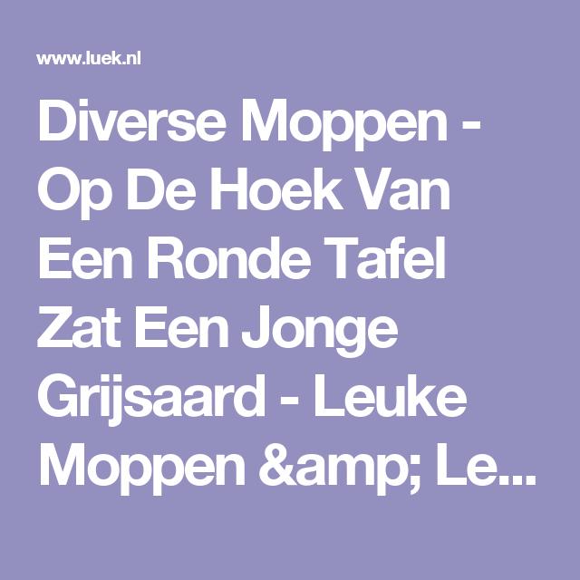 Op De Hoek Van De Ronde Tafel.Pin Op Humor