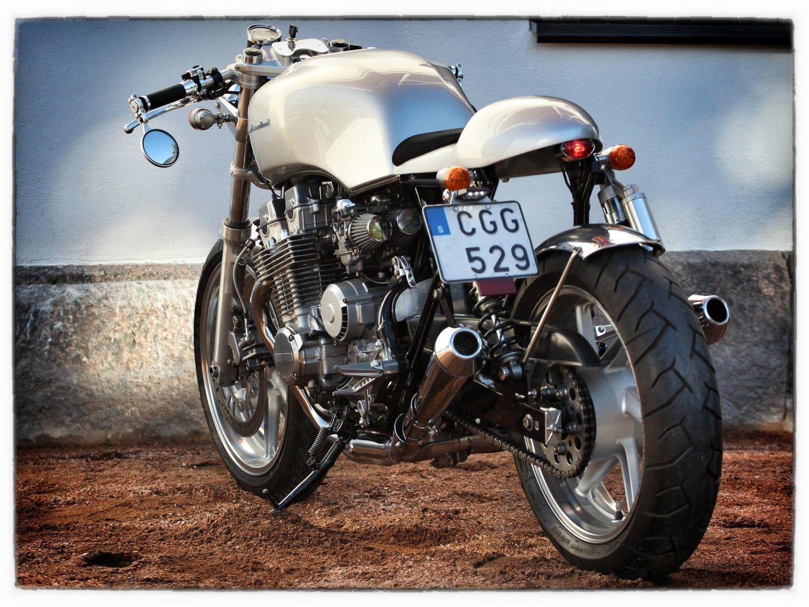 Honda CB 750 Cafe Racer ~ Grease n Gasoline Honda Cafe Racer, Honda