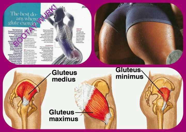 Glutes all day!