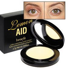 Lemon Aid By Benefit My Favorite Item In My Makeup Kit Beauty Products Drugstore Benefit Cosmetics Makeup Obsession