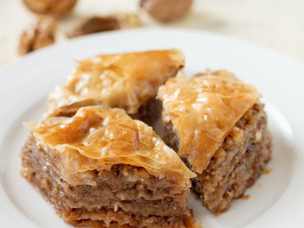 Baklava Aux Noix Recette Douceurs Pinterest Desserts
