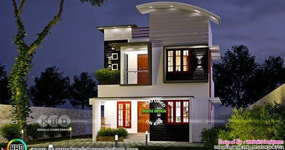 3 BHK small double storied house 1200 sq ft