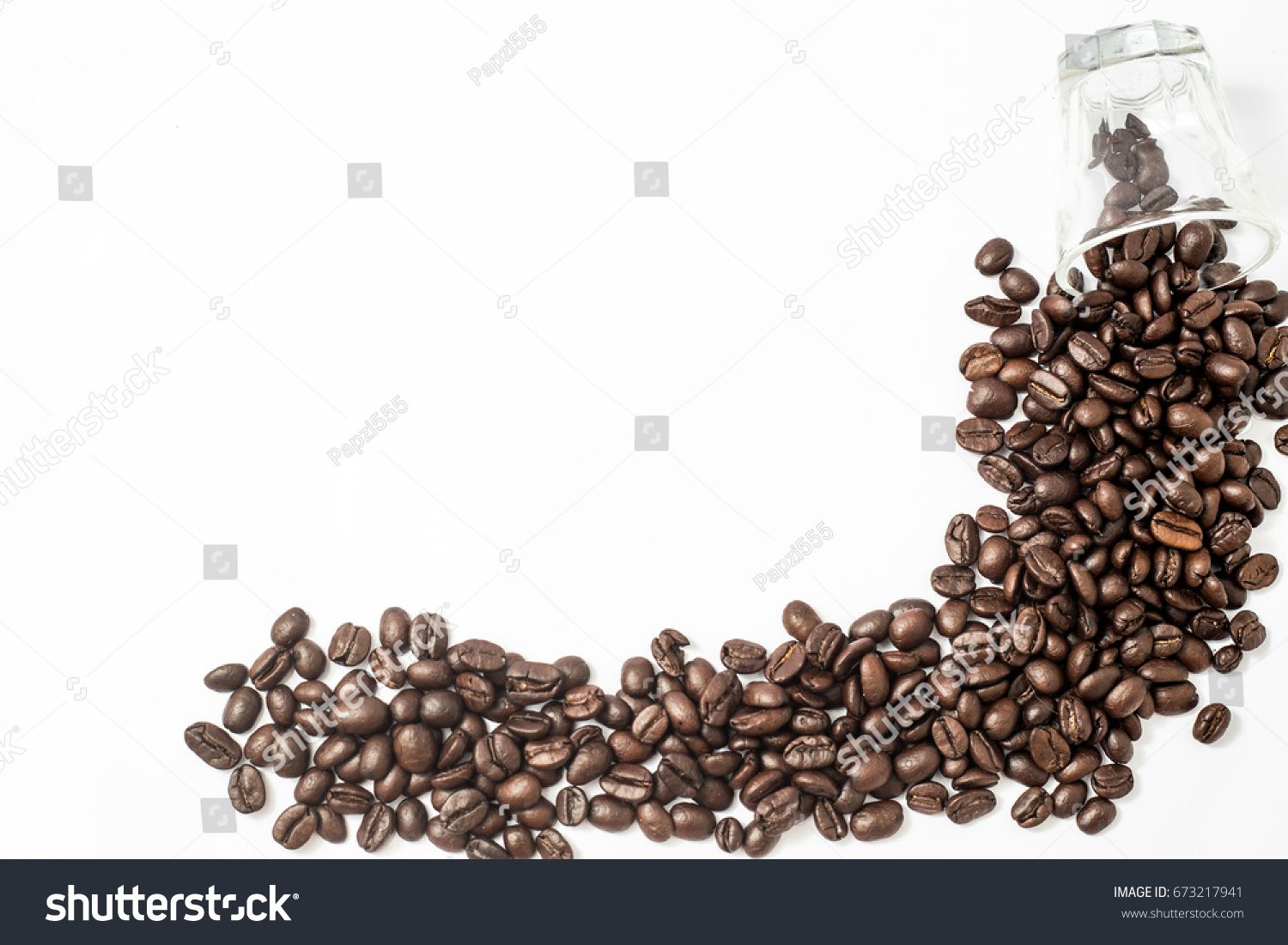 Roasted Coffee Beans Cup Full Isolated On White Background With Space For Caption Or Text Ad Sponso In 2020 Roasted Coffee Beans Coffee Beans Graphics Design Ideas