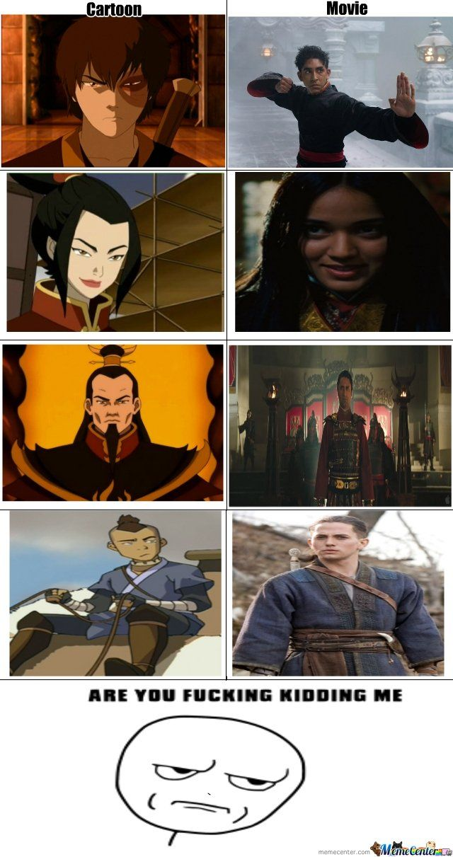 last airbender funny - Google Search   Avatar funny ...