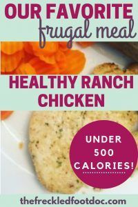 Healthy Ranch Chicken Recipe- Easy Budget Meals images