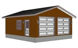 24 X 26 Garage Plan Free House Plans Garage Plan Play Houses