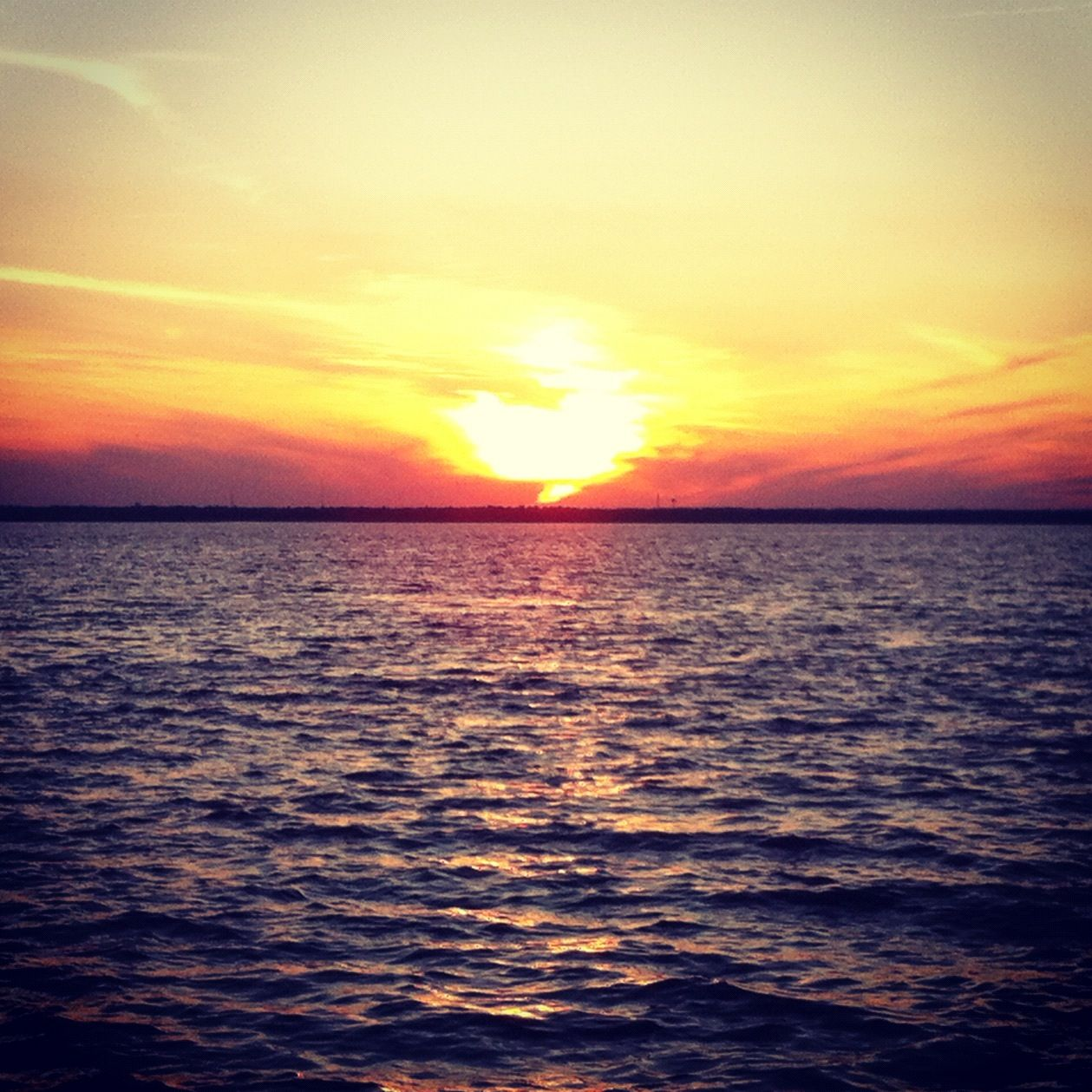 Lbi: Sunset Over The Bay