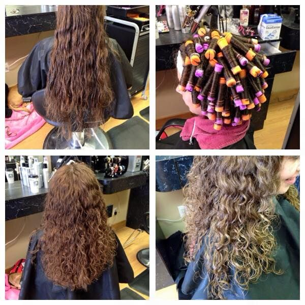 Spiral Perm Before After And Results Perms Pinterest Perm