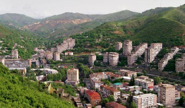 City Of Kapan Armenia Armenien Arminia
