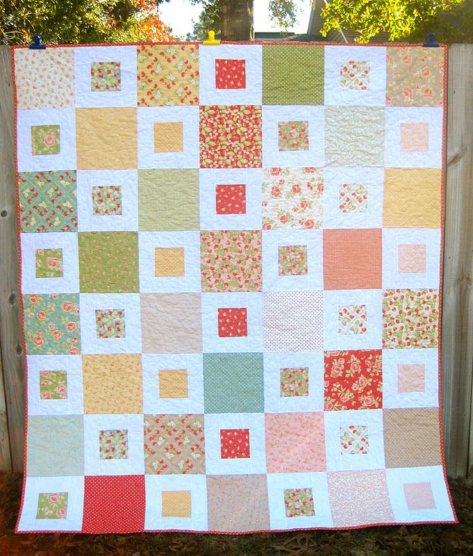 Kelbysews Finished Quilts Square Quilt Quilt Layers Layer Cake Quilt Patterns