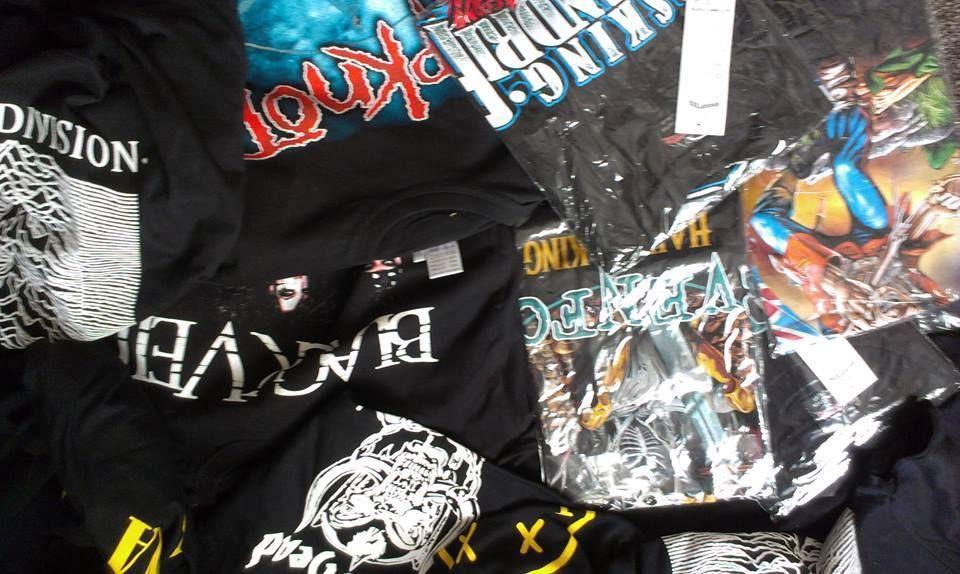 Wholesale job lot 10 Rock Band t shirts New Band tshirts