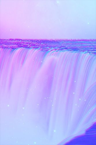 Miracle Purple Waterfall P A T T E R N Lavender